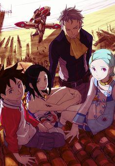 Eureka Seven anime series
