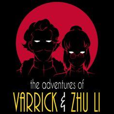 The adventures of Varrick & Zhu Li - NeatoShop