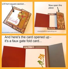 [Video]CTMH Artbooking Autumn Tree Cricut Card