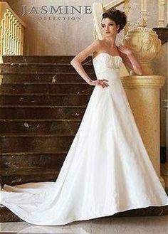 Jasmine Jenny Lee Jasmine Couture F266 Wedding Dress 41% off retail