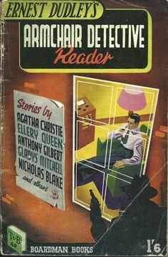 Ernest Dudley Armchair Reader TV Boardman 49 1948 Denis McLoughlin cover art