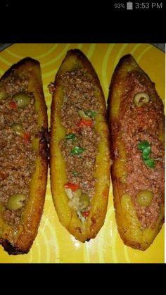 Delicious Puerto Rican cuisine...