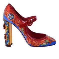 Cat Shoes, Pump Shoes, Designer Shoes Heels, Jeweled Sandals, Dolce Gabbana, Cute Heels, Mary Jane Pumps, Slingback Pump, Fashion Heels