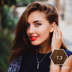 €19.95 · Haarverf goud donkerblond van WECOLOUR, haarkleur 7.3 is een prachtige goud donkerblonde haarkleur. * Geen verzendkosten * Na opening houdbaar * Zo puur mogelijk * Make Up, Pure Products, Makeup, Beauty Makeup, Bronzer Makeup