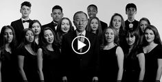 UNICEF presents the world's biggest sing-along of #Imagine to help promote worldwide child rights on the 25th Anniversary of the Convention of the Rights of the Child.