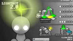 Check out Light-Bot 2.0 on Armor Games.