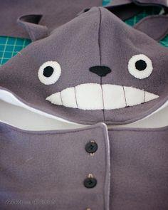 HOLY CRAP Totoro Hood DIY, with Free Pattern