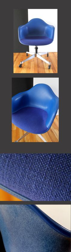 What a 1968 #Eames Molded Fiberglass Chair by @hermanmiller looks like in 2018.  Buy authentic #Eames, it's built to last.  See our partners @hermanmiller and @vitra