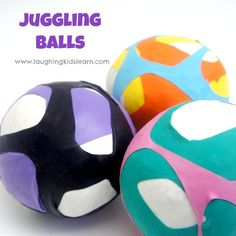 how-to-make-juggling-balls for #kids ages 8+ years