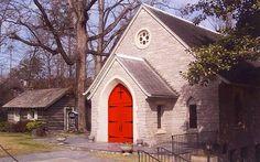 Log Cabin Community Church in Smyrna Georgia