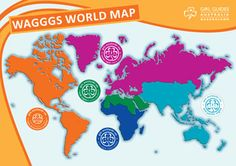 Mapa de #wagggs