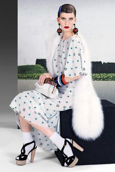 Prada Resort 2011 Collection Slideshow on Style.com