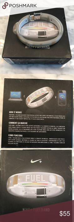 NIKE Fuel Band XL Frost white in color. Very little use. Still holds full charge. Nike Accessories Watches