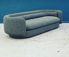 Philippe Malouin sofa, 2017 Raf Simons textile