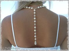 SALE Back drop natural cultured freshwater pearl by IuliasDesign, $19.50
