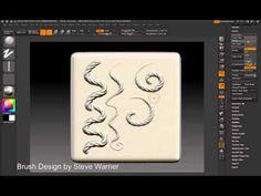 ZBrush 4 - Alpha Roll (Custom Brushes) - ZBrush Tutorial - Feature Videos - Tutorials, Zbrush TutorialsComputer Graphics & Digital Art Community for Artist: Job, Tutorial, Art, Concept Art, Portfolio