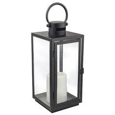 1 Light Outdoor Metal Lantern