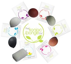 I want to try these! 100% natural Konjac Vegetable Sponges deeply cleanse without damaging sensitive skin & have health-giving properties used by the Japanese for over 1500 years