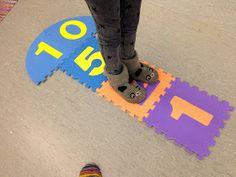 OpenIdeat: Kertotaulut - pistetyöskentely Math Multiplication, Maths, Teaching, Classroom, Learning, Education