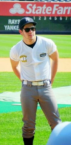 Nick Jonas...even though your hat says Yankees...I'll let it slide