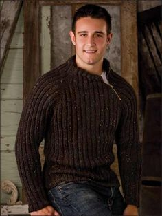 Some purists say that it's if you knit anything for a man before you're married. Knitting a sweater is a labor of love and a wonderful expression of your affection. Whether you've got a ring or you're just not superstitious, these free men's sweater patterns make great gifts for husbands, fathers, and other special guys in your life. Find more inspiration at Free-knitpatterns.com/blog