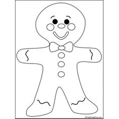 Gingerbread Man  Free Paper Bag Puppets  Classroom Ideas