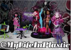 Pretty — Welcome To Monster High Source:@mylifeinplastic...