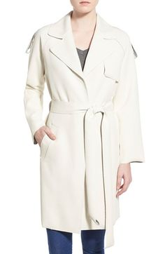J.O.A. Scuba Trench Coat available at #Nordstrom