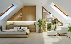 Stylowy 3 - wizualizacja 6 - Projekty domów z antresolą – Stylowy 3