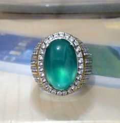 Gem silica Chrysocolla HQ/Bluis Green/Good Luster Free Shipping !!
