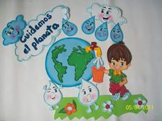 Painel English Activities, Class Activities, Kids Education, Classroom Organization, Classroom Decor, Alphabet Board, Environment Day, Class Teacher, Material Pedagógico