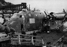 Captured (?) BV-222 V2 TRONDHEIN FJORD Norway 27-08-1945