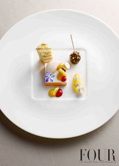 Christoph Rüffer from FOUR Germany's edition | Foie gras with fruit confetti and grilled brioche #FOURMagazine