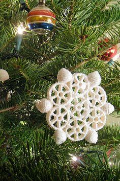noodle snowflake   Sneeuwvlok van pasta!