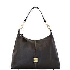 Dooney & Bourke Pebble Grain Leather Juliette Hobo. Leather. Pebble Grain Leather.
