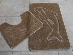 These mink bathroom rugs are machine washable and non slip, making it suitable on tiles, lino or laminate flooring. Free delivery, from Rugs Supermarket. Machine Washable Rugs, Bathroom Rugs, Laminate Flooring, Mink, Dolphins, Home Decor, Bath Rugs, Decoration Home, Floating Floor