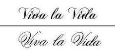 viva la vida tattoo - Google Search
