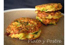 Receta de Tortitas de brócoli y zanahoria (por platoypostre) - Gallina Blanca