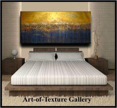 Abstrait peinture 70 x 30 énorme Texture abstraite par artoftexture