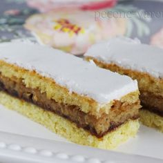 Czech Recipes, Ethnic Recipes, Cream Cheese Flan, Desserts With Biscuits, Oreo Cupcakes, Mousse Cake, Sponge Cake, Nutella, Sweet Recipes