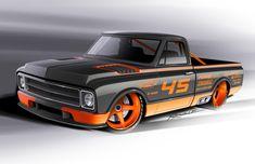 67 Chevy Truck, C10 Trucks, Classic Chevy Trucks, Hot Rod Trucks, Chevy C10, Chevy Pickups, Pickup Trucks, Classic Cars, Cool Car Drawings