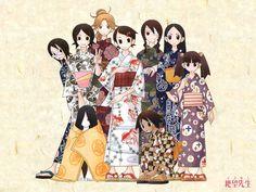 Sayonara Zetsubou Sensei: The Girls of 2-H