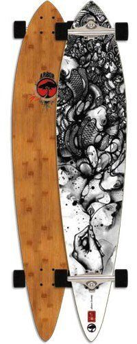 17e33906c9ad Arbor Bamboo Pin Complete Pintail Longboard Skateboard by Arbor. $171.95.  Clear Spray On Grip