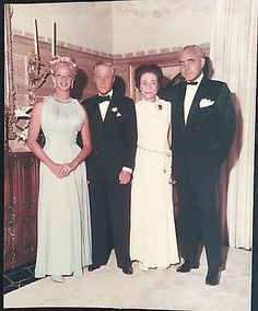 Duke And Duchess Of Windsor With Woolworth And Mary Hartline Donahue Photo