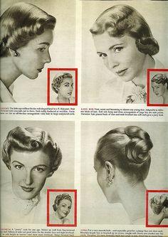 1950 hair styles | Flickr - Photo Sharing!