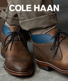 Air Colton Chukka boot by Cole Haan