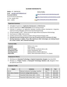 Bds Resume Format Free Sle Of Resume Format 100 Images Resume Sles Free Bds Format Sle .