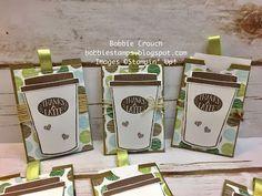 Bobbiestamps.com: Coffee Cafe' Money Holder