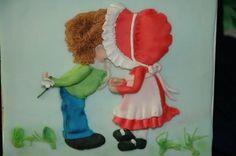 Dina's Kissing Couple Bas Relief Tutorial | New York City Sugar Art & Cake Decorating