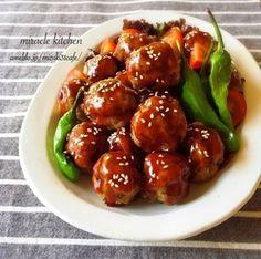 ♡一気に混ぜて超簡単♡お豆腐団子の甘酢ケチャップ♡【簡単*時短*節約*ヘルシー】|レシピブログ